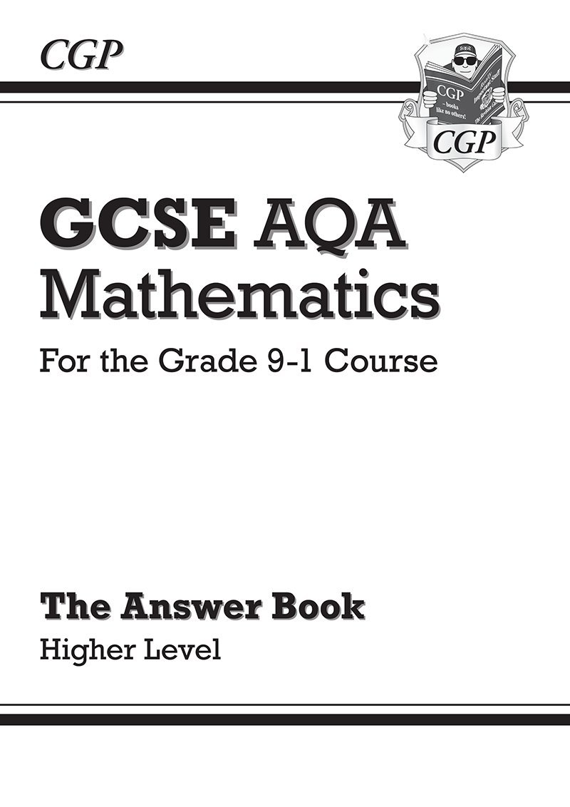 GCSE Maths AQA Answers for Workbook: Higher - for the Grade 9-1 ...