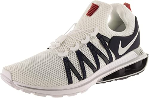 Nike Men's Shox Gravity White/Metallic