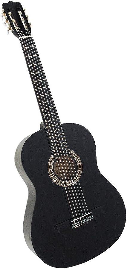 MSA C - Guitarra acústica, Hals schwarz: Amazon.es: Instrumentos ...