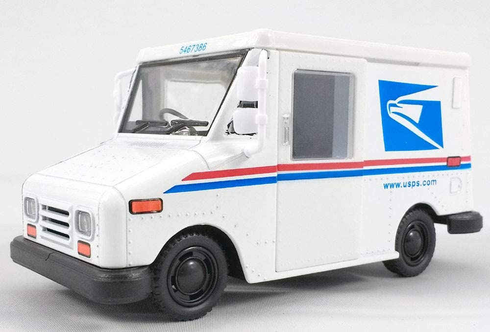 Amazon Com Kinsfun 5 Inch Grumman Llv Usps Mail Delivery Truck