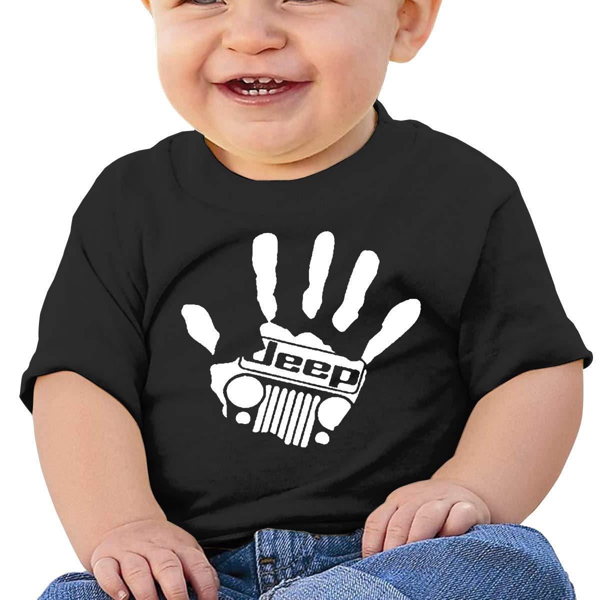 Baby T-shirt Jeep Girl Caps Children\'s Cotton T-shirt T-shirts