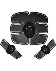 Moliies Dispositivo eléctrico Inteligente para Entrenamiento de músculos Abdominales, Dispositivo de Cuerpo, atención médica