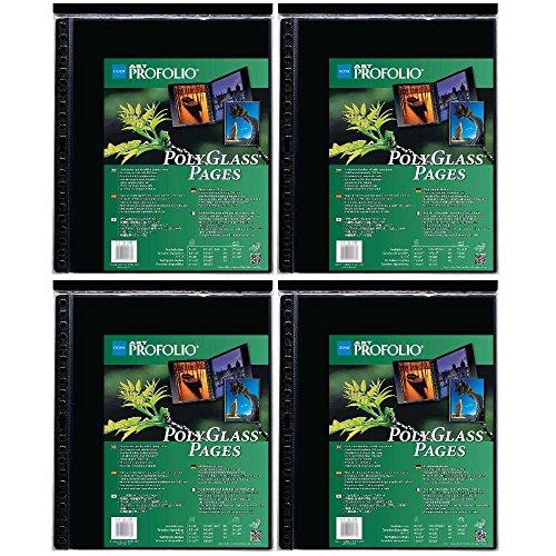 Itoya Art ProFolio Portrait Polyglass Pages (14'' x 17'') (4 Pack) by Itoya of America, Ltd (Image #4)