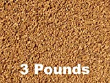 BC Precision Three (3) Pounds Walnut Shell Tumbling Media For Brass And Metal Cleaning & Polishing
