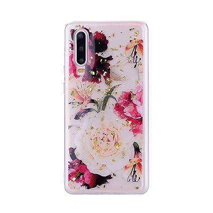 Amazon.com: Funda para móvil A70 con diseño de flores, de ...