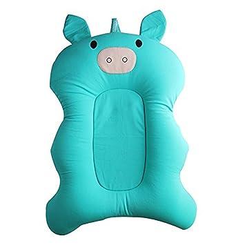 Bath Tub Cushion Floating Soft Seat Newborn Infant Pillow Air Baby Pad Lounger