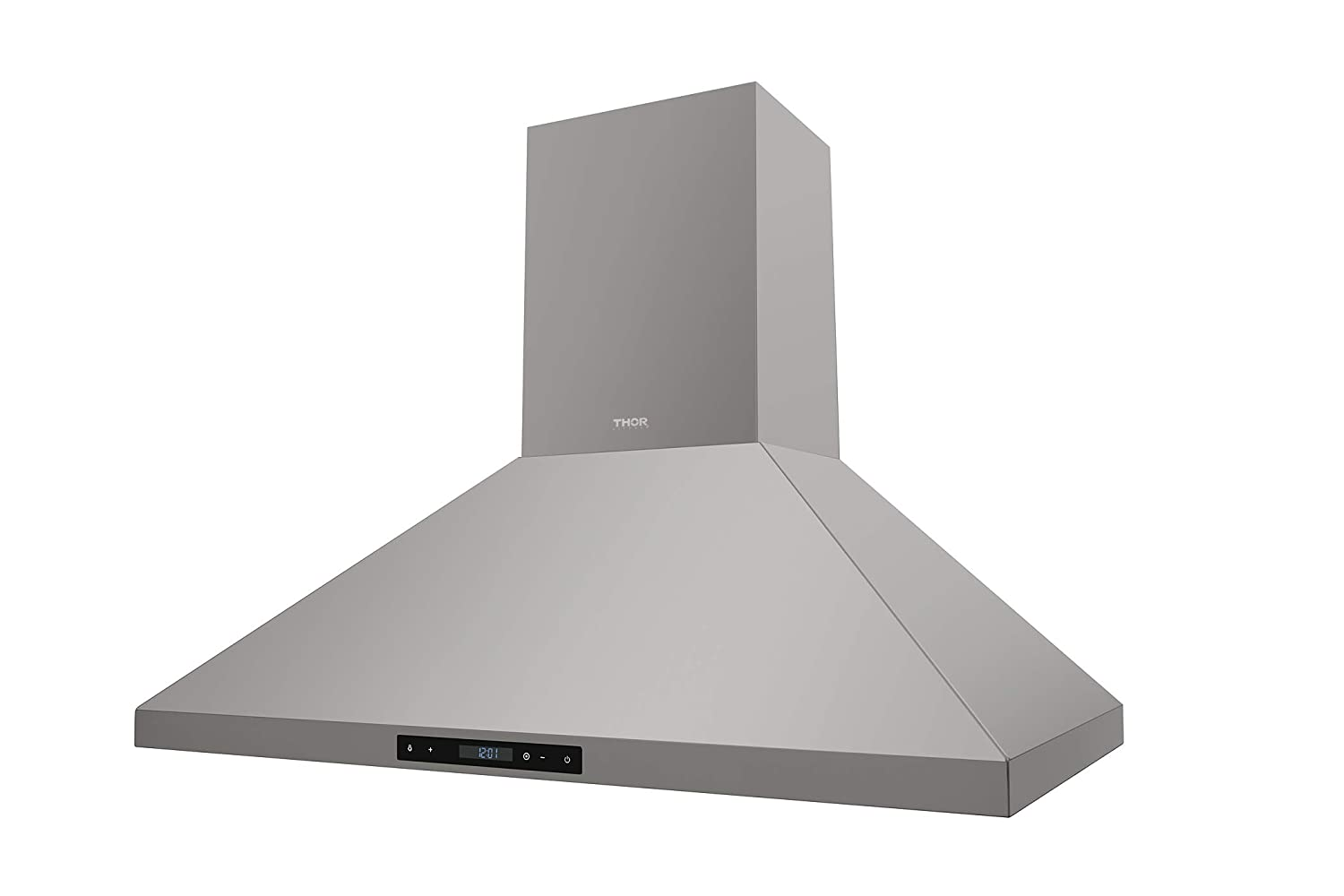 "Thorkitchen 36"" Wall Mount Range Hood, Stainless Steel Touch Panel Kitchen Cooking Fan"