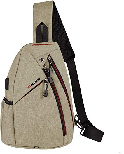 Oxofrd Sling Bag Small Backpack Purse Tablets Bag Chest Bag Pack Shoulder Bag