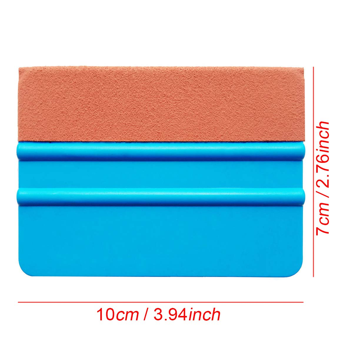 SYTASOO 4Inch Automotive Felt Squeegee for Auto Vinyl Wrap Window Tint Tool Wallpaper Tool