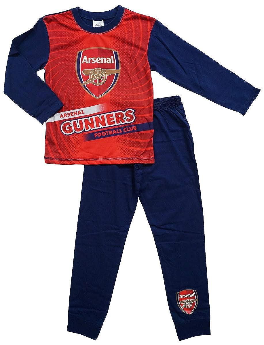 Arsenal FC Boys Pyjama Set Sizes 4 to 12 Years