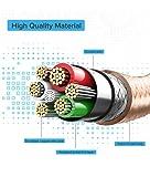Lightning Cable, Quntis 3Pack 6ft Nylon Braided