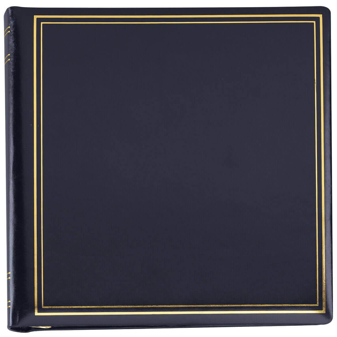 Personalized Presidential Oversize Album-Navy 2 Lines