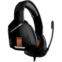 BINDEN Audífonos Gamer G800 Ligeros con Cancelación de Ruido Exterior Sonido Estéreo con Micrófono Compatible con PC…