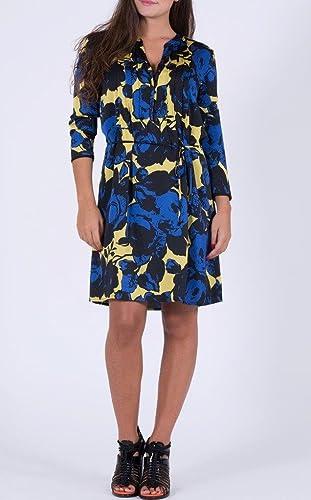 Vestito fantasia con fiori (IT Donna 48 EU)