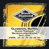 Black Diamond N68B Classical Guitar Strings, Ball End