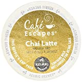 Cafe Escapes Chai Latte Tea Keurig K-Cups, 16 Count