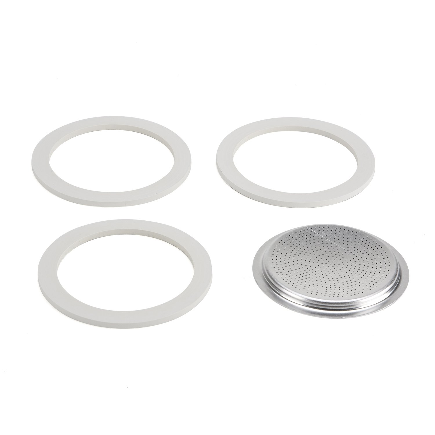 Bialetti 06602 Moka 9-Cup Gasket/Filter Replacement Parts