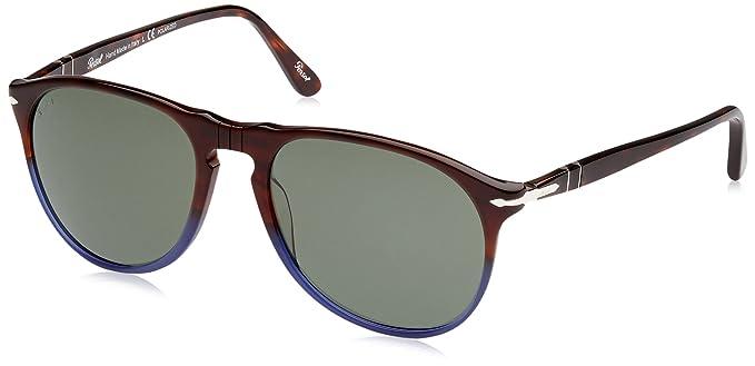 db8ebb3f6d Persol Women s Polarized PO9649S-102258-55 Brown Oval Sunglasses ...