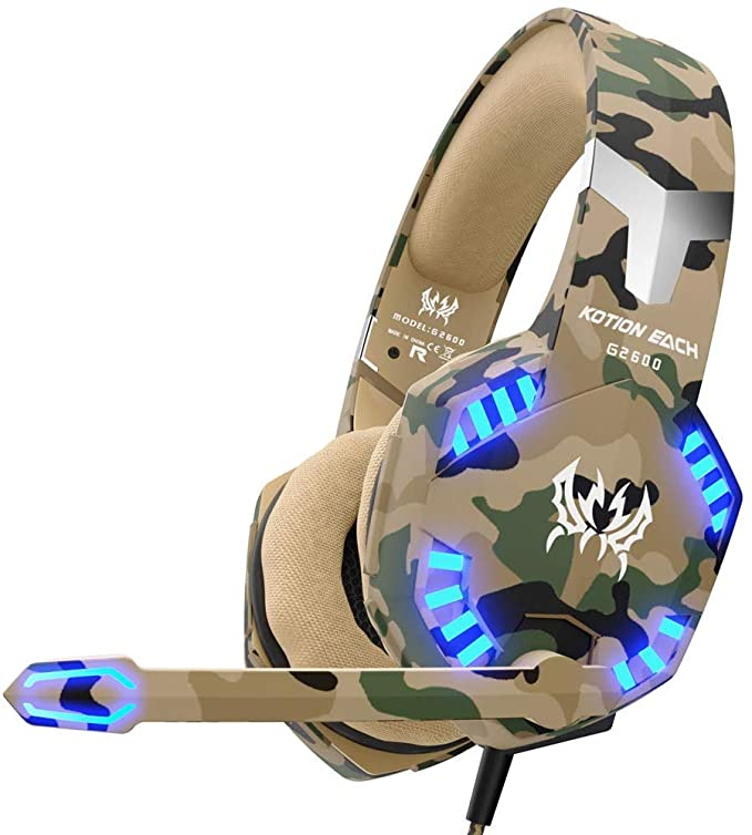 VersionTech Auricular Gamer Poour PS4, Xbox One y PC: Amazon ...