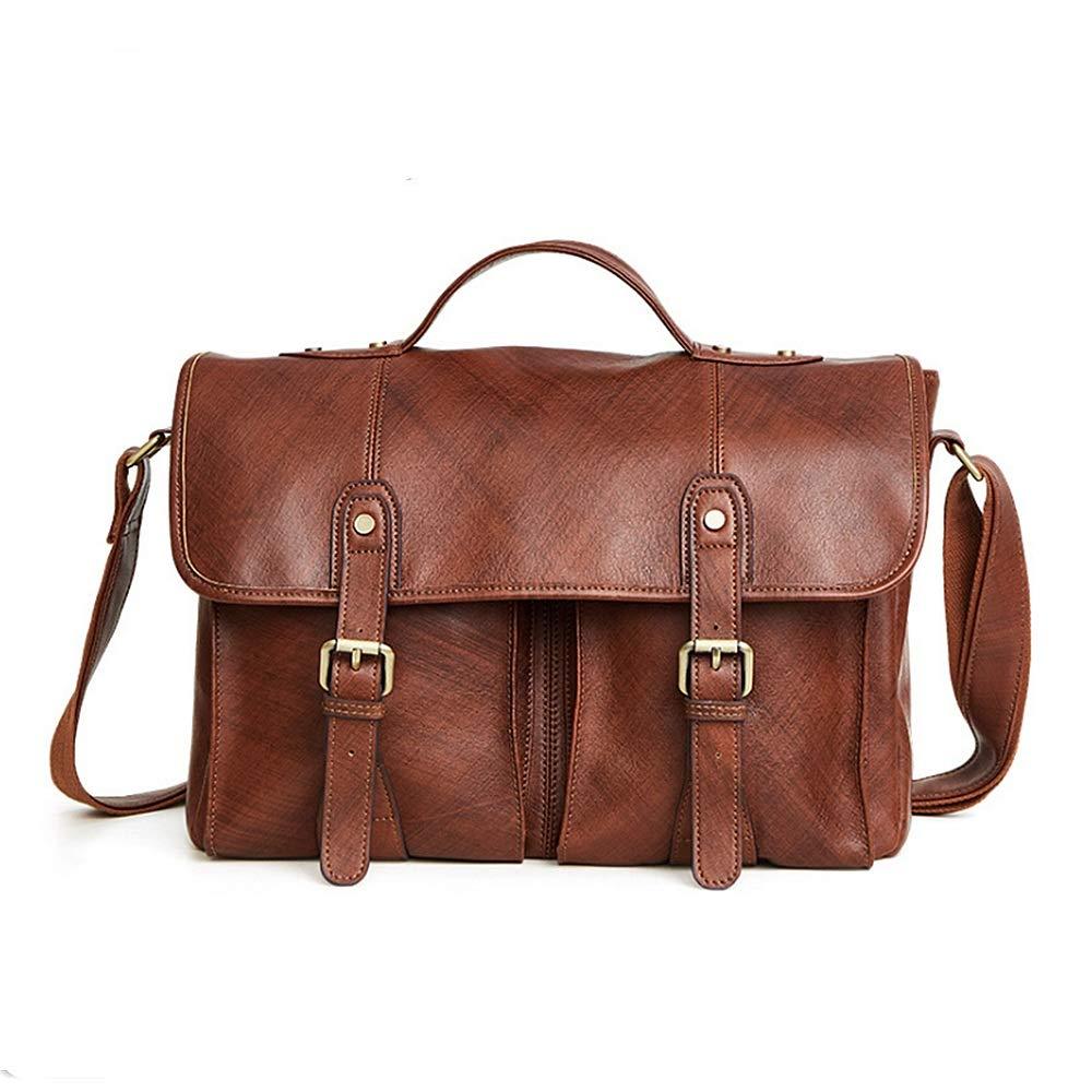 FeliciaJuan Large Size Mens Laptop Bag Travel Briefcase with Organizer Expandable Shoulder Bag Water Resisatant Business Messenger Briefcases for Men and Women