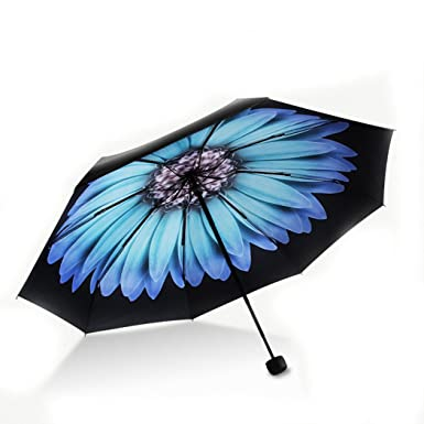 9cb001819f27 JUSTMODE Ultralight Sun Umbrella Travel UV/Sun Protection Folding Rain  Umbrella