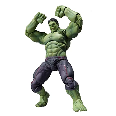 Marvel Avengers Titan Hero Series Power 15cm Hulk Joint ...