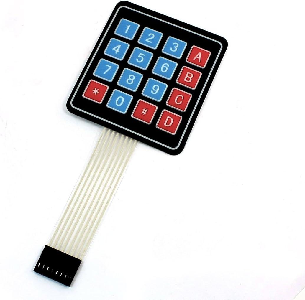 Sourcingmap a13111900ux0443 - Matriz 4x4 16 tecla del teclado ...