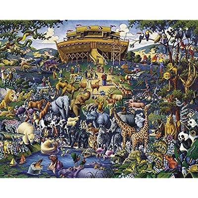 Dowdle Jigsaw Puzzle - Noah's Ark - 100 Piece: Toys & Games