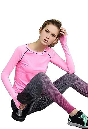 Sportset 3//4 Leggings und T-Shirt Set Größe:L Damen Pink Fitness Sport