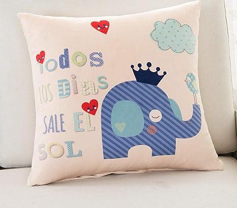 Sofá almohada almohada de dibujos animados sofá pintura para ...