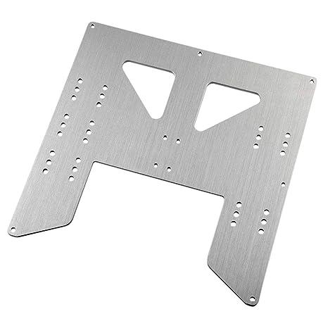 bdf1850ff7 SODIAL Upgrade Piastra Carrello in Alluminio Y per Stampante 3D Anet A8