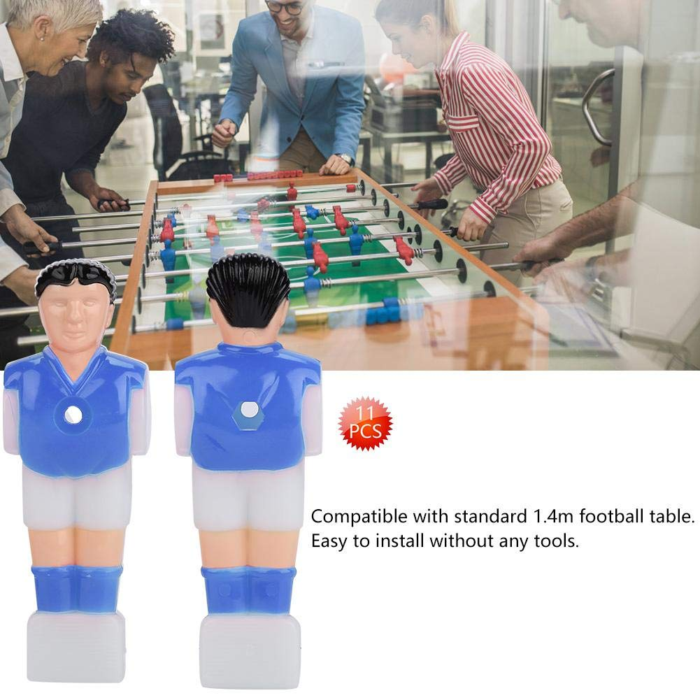Table Guys Man Soccer Games Player Set Mini Doll Football Machine Accessories 15.8mm Foosball Men