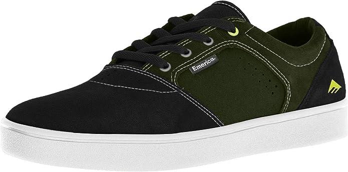 Emerica Figgy Dose Sneakers Herren Schwarz Grün Weiß
