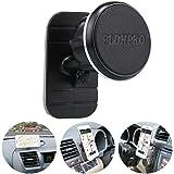 車載スマホスタンド、磁気ホルダー、PLDHPRO 汎用型マグネットホルダー 車載、マイカーのインパネに貼る、360°旋回調節可能 スマホホルダー、iPhoneサムサンSONYグーグル、すべての「4-6.4」スマホGPS携帯電話に対応できる(ブラック)