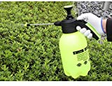 Yzakka 2 Liter Plastic Pump Pressure Watering Can Pressurized Sprayer Bottle Sprinkling Gardening Tool