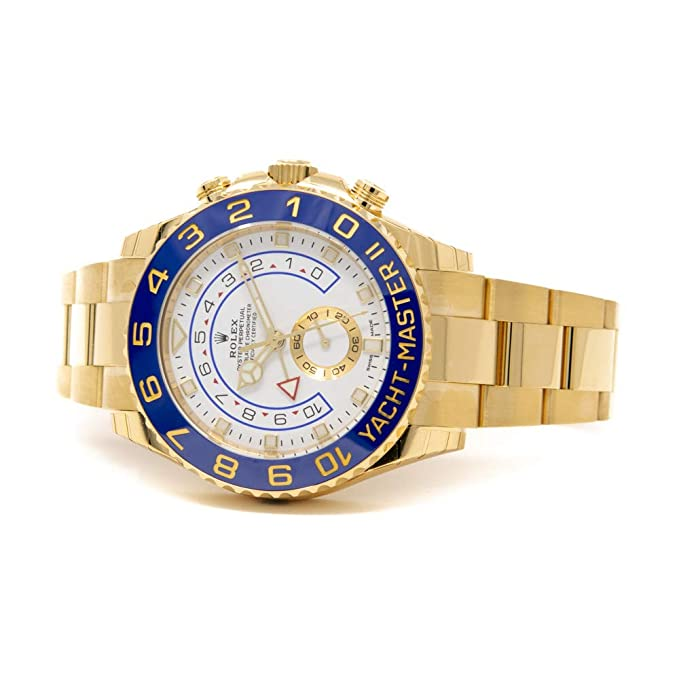 df2c0196d Amazon.com: Men's 18K Gold Rolex Yachtmaster II Model # 116688: Watches