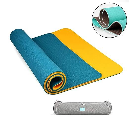 ZQSLD Yoga Mat Essential,Espesor0.6cm, colchoneta de Yoga ...
