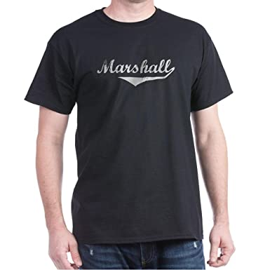 Amazon.com  CafePress Marshall Vintage (Silver) T-Shirt Cotton T ... ee609be3f