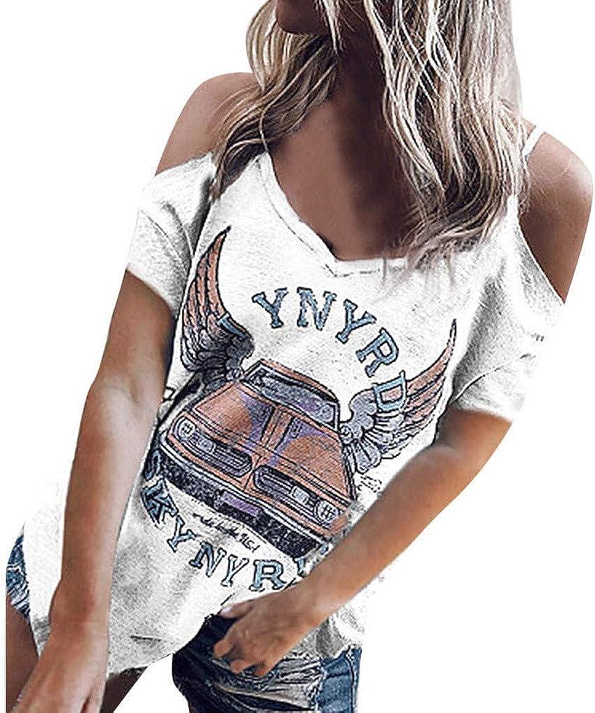 Eoeth Womens Colour Stripe Printing Vest Blouse Lace Splicing T-Shirt Blouse Sleeveless V-Neck Tank Tops