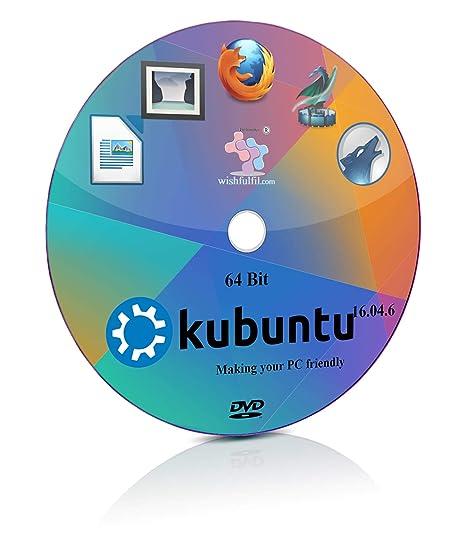 Kubuntu 16 04 6 KDE Plasma 64 Bit Live Bootable Installation