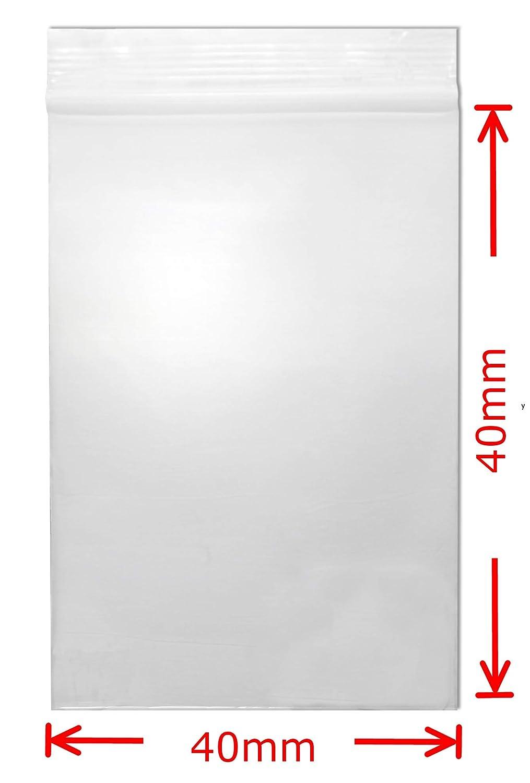 100, 40x40mm WeltiesSmartTools Druckverschlussbeutel 50my div Gr/ö/ße Mengen