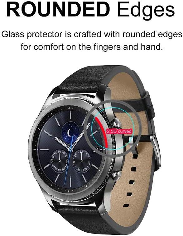 Fenix 6X Pro and Fenix 6X Pro Solar Tempered Glass Screen Protector Supershieldz for Garmin Fenix 6X Bubble Free Anti Scratch 2 Pack