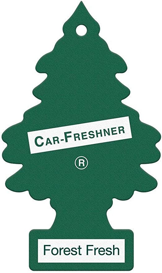 Forest Fresh Magic Tree/Little Tree Car/Home/Van Air Freshener 5 Pk