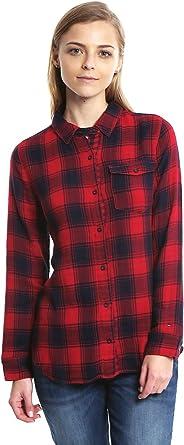 Tommy Hilfiger Zareen Shirt L/S Camisa para Mujer: Amazon.es ...