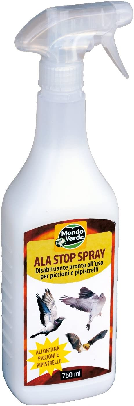 MONDO Green rep29ep – Spray Repeller Birds 750 ml, White