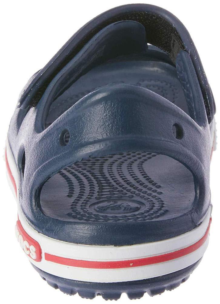 Crocs Kid's Boys and Girls Crocband II Sandal | Pre School, Navy/White, 5 M US Toddler by Crocs (Image #9)