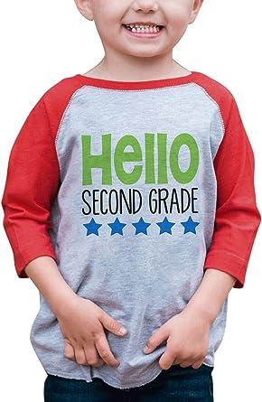 Custom Party Shop Kids Hello 2nd Grade School T-Shirt