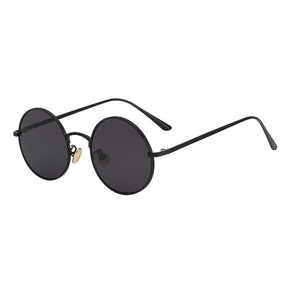 Amazon.com: Vintage Sunglasses Women Retro Round Glasses ...
