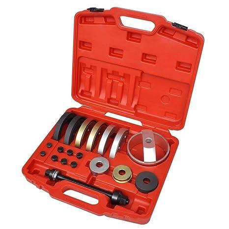Kit de herramientas de unidad de rodamiento para buje de rueda 62 mm, 66 mm
