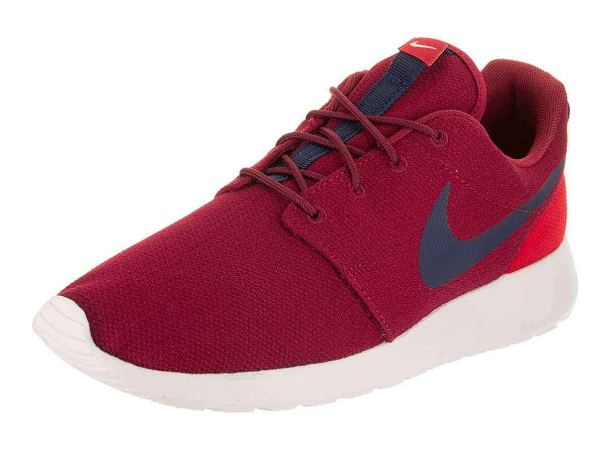 sale retailer f46ac 355b6 NIKE Men's Roshe One Red Crush/Midnight Navy Running Shoe 12 Men US